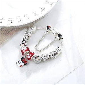 Jewelry - New 20cm Minnie Mouse Charm Bracelet